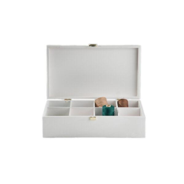 cutie de lemn pentru plicuri de ceai